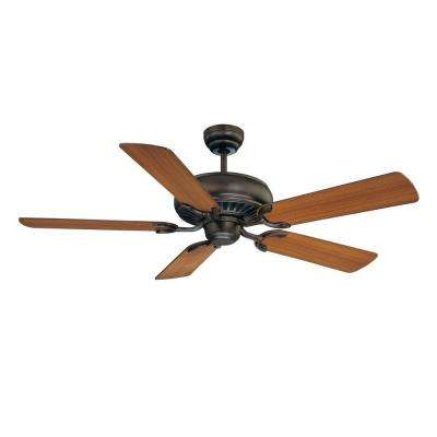 52 in. Indoor English Bronze Ceiling Fan
