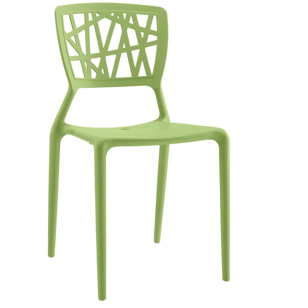 Astro Green Dining Side Chair