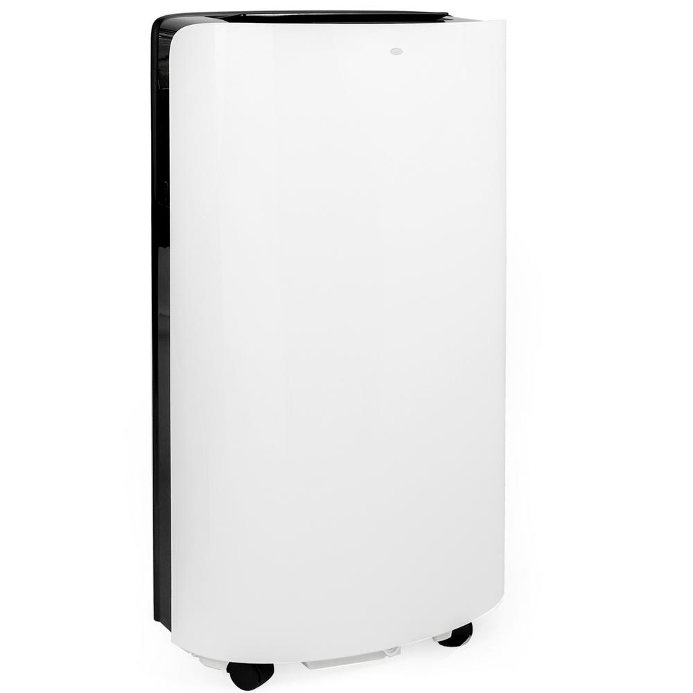 Barton 14 000 Btu 4 In 1 Portable Air Conditioner With Lcd Display Heater Dehumidifier And Remote Control In White 99911 H The Home Depot