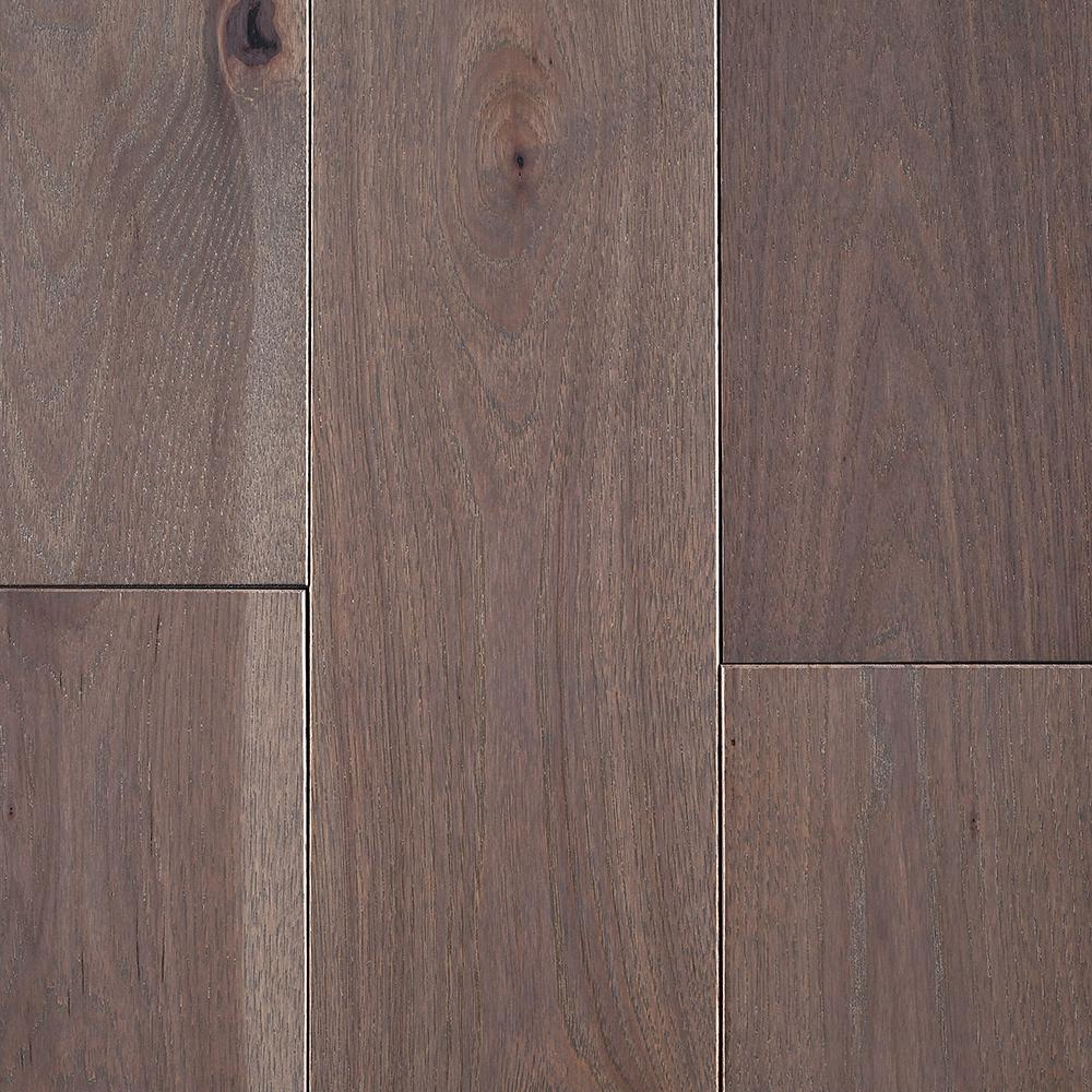 Take Home Sample - Hickory Morning Fog Solid Hardwood Flooring -