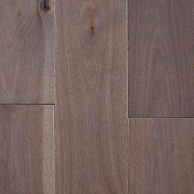 Take Home Sample - Hickory Morning Fog Solid Hardwood Flooring - 5 in. x 7 in.