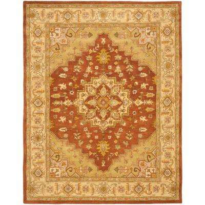 Heritage Rust/Gold 8 ft. x 10 ft. Area Rug