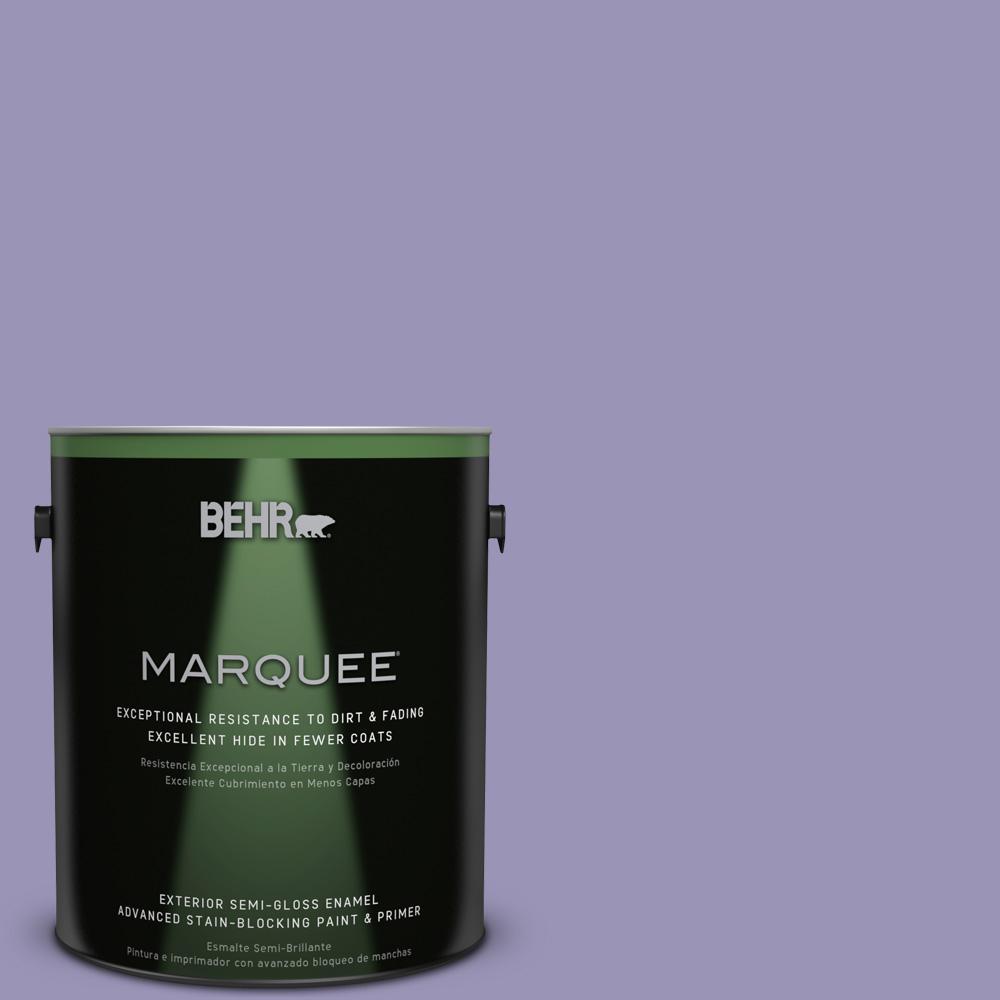 1-gal. #640D-5 June Berry Semi-Gloss Enamel Exterior Paint