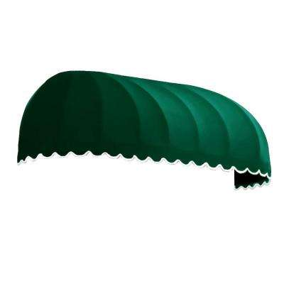 8 ft. Chicago Window/Entry Awning (44 in. H x 36 in. D) in Forest