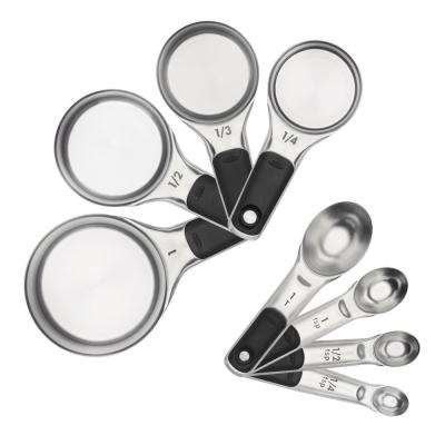 Good Grips Stainless Steel Measuring Cups and Spoons Set
