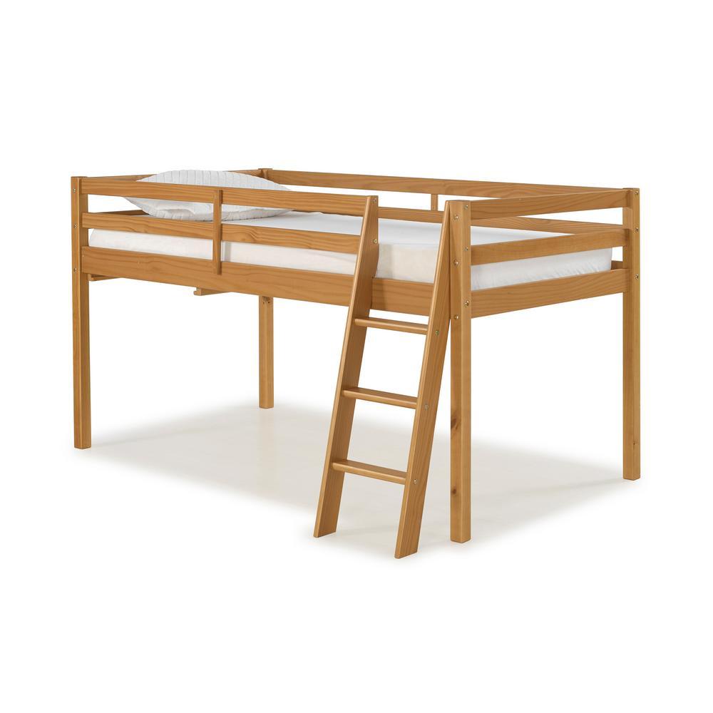 Roxy Cinnamon (Red) Twin Junior Loft Bed