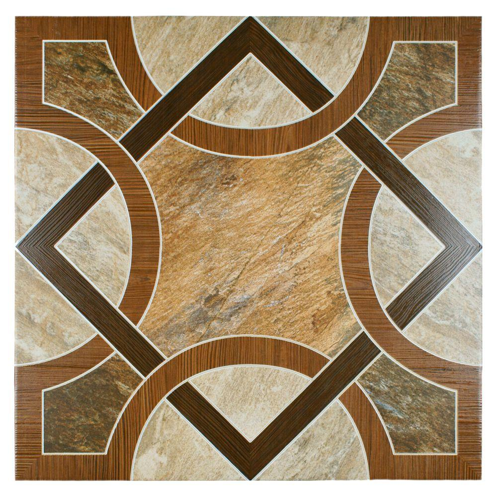 Merola Tile Montana 17-3/4 in. x 17-3/4 in. Ceramic Floor and Wall Tile (15.3 sq. ft. /case)-DISCONTINUED