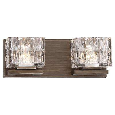 60-Watt Equivalent Metallic Bronze Integrated LED Bath Light