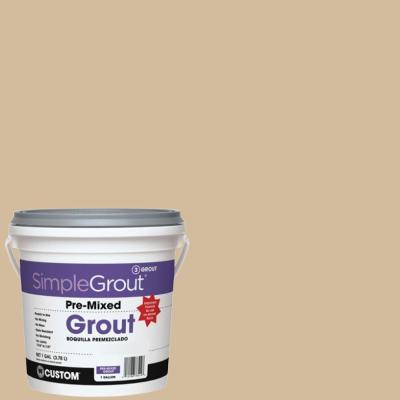 SimpleGrout #122 Linen 1 Gal. Pre-Mixed Grout