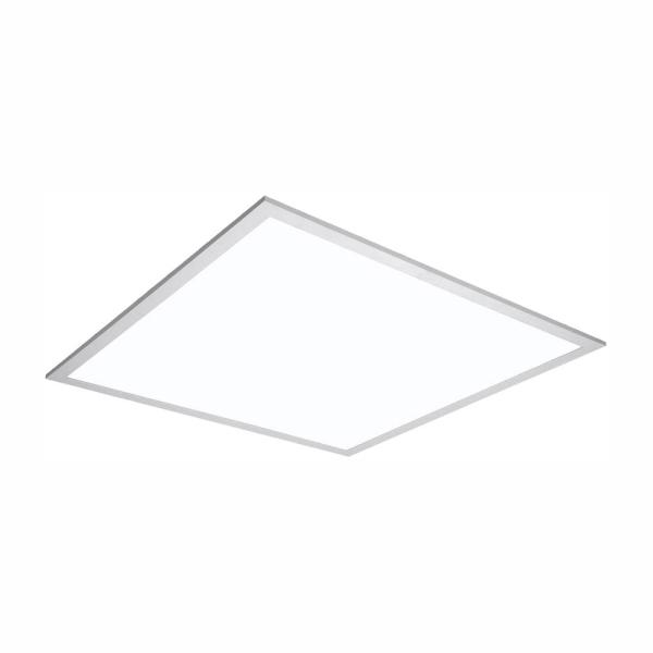 2 ft. x 2 ft. White Integrated LED Flat Panel Troffer Light Fixture at 4200 Lumens, 4000K, Dimmable