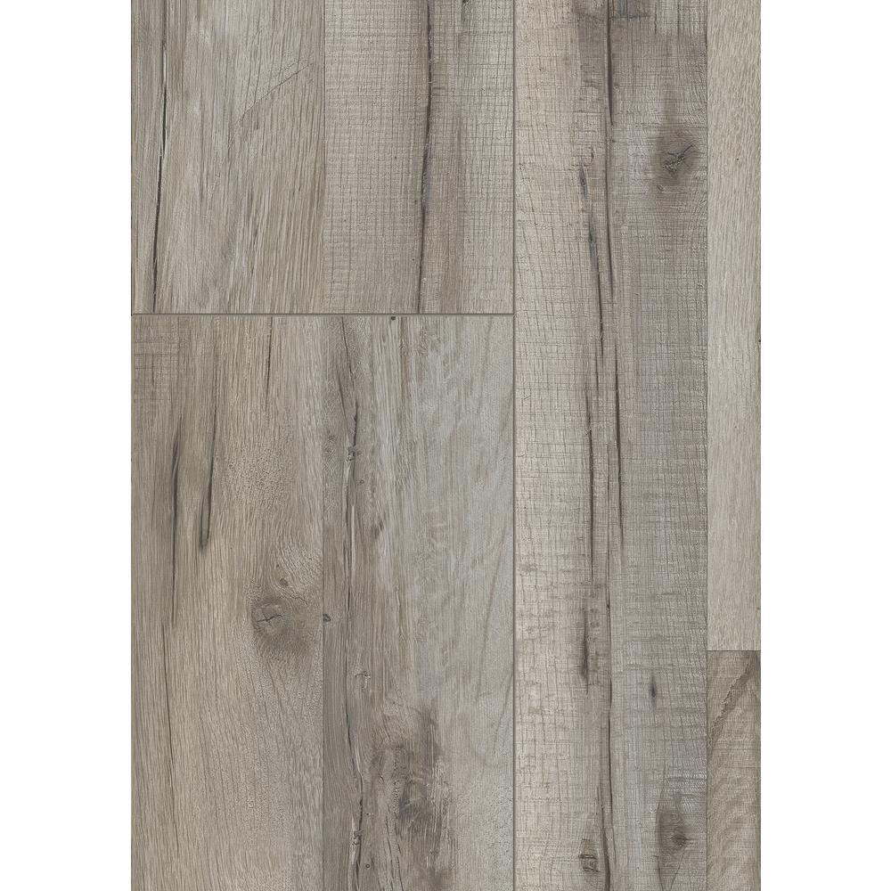 Take Home Sample - Barnside Oak Laminate Flooring - 5 in. x 7 in.