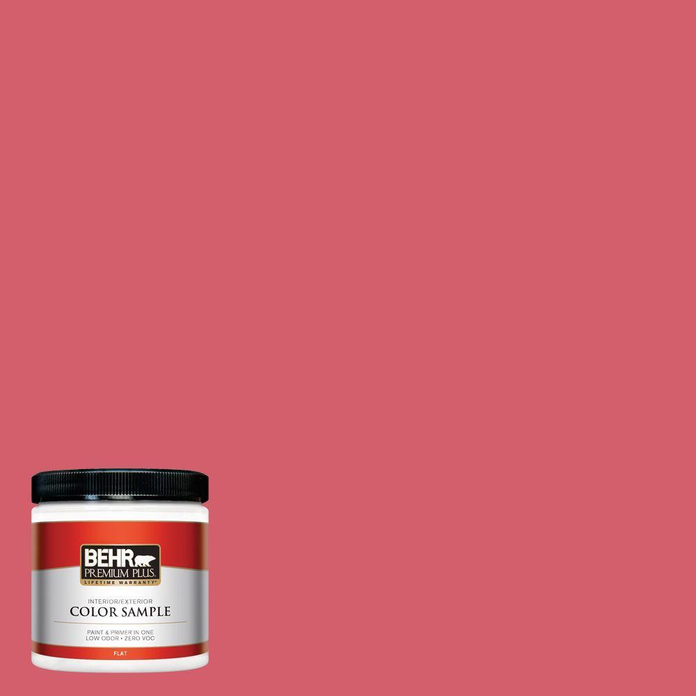BEHR Premium Plus 8 oz. #140B-6 Italiano Rose Interior/Exterior Paint Sample