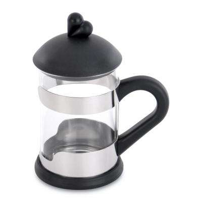 Lover by Lover 7.36 oz. Black Glass Coffee/Tea Cup (Set of 2)