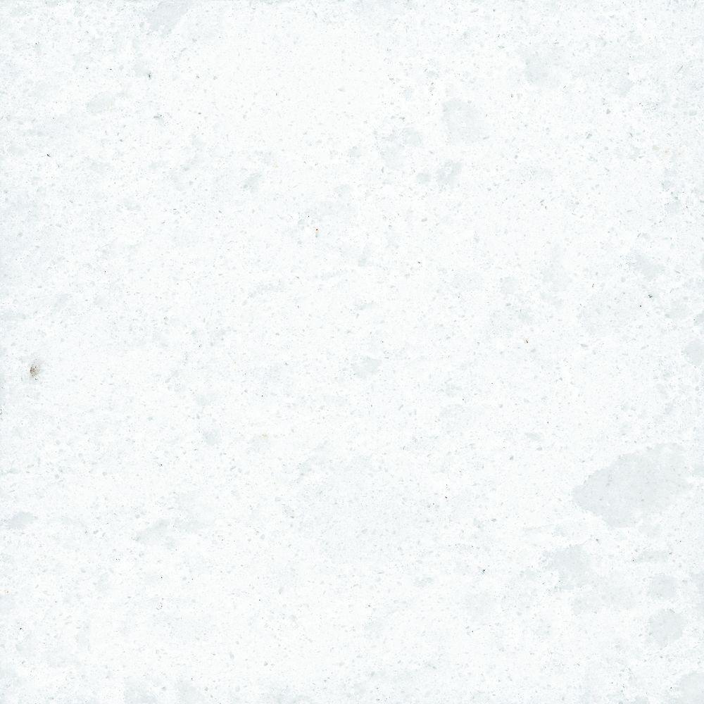 3 in. x 3 in. Countertop Sample in Snowstorm