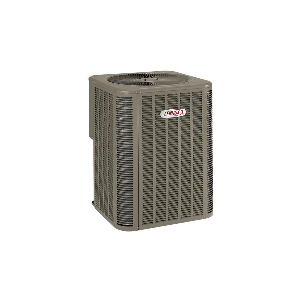 lennox installed merit signature series air conditioner hsinstlensac the home depot. Black Bedroom Furniture Sets. Home Design Ideas