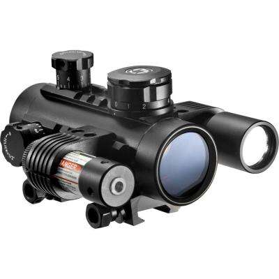 Electro 1x30 Hunting Sight with Flashlight and Laser