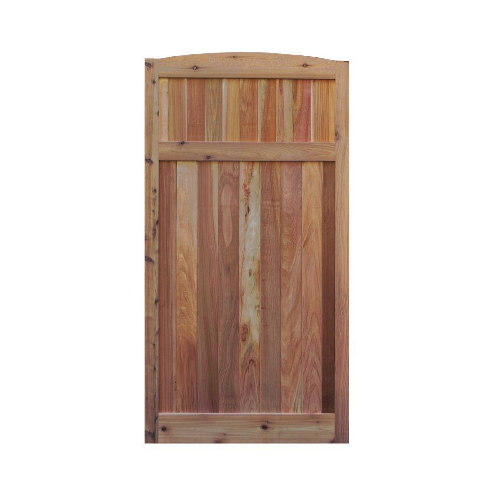 Western Red Cedar Arch Top Solid Lattice Fence Gate-36x70x1.5ASDGAT - The Home Depot  sc 1 st  The Home Depot & Signature Development 3 ft. x 6 ft. Western Red Cedar Arch Top ... pezcame.com