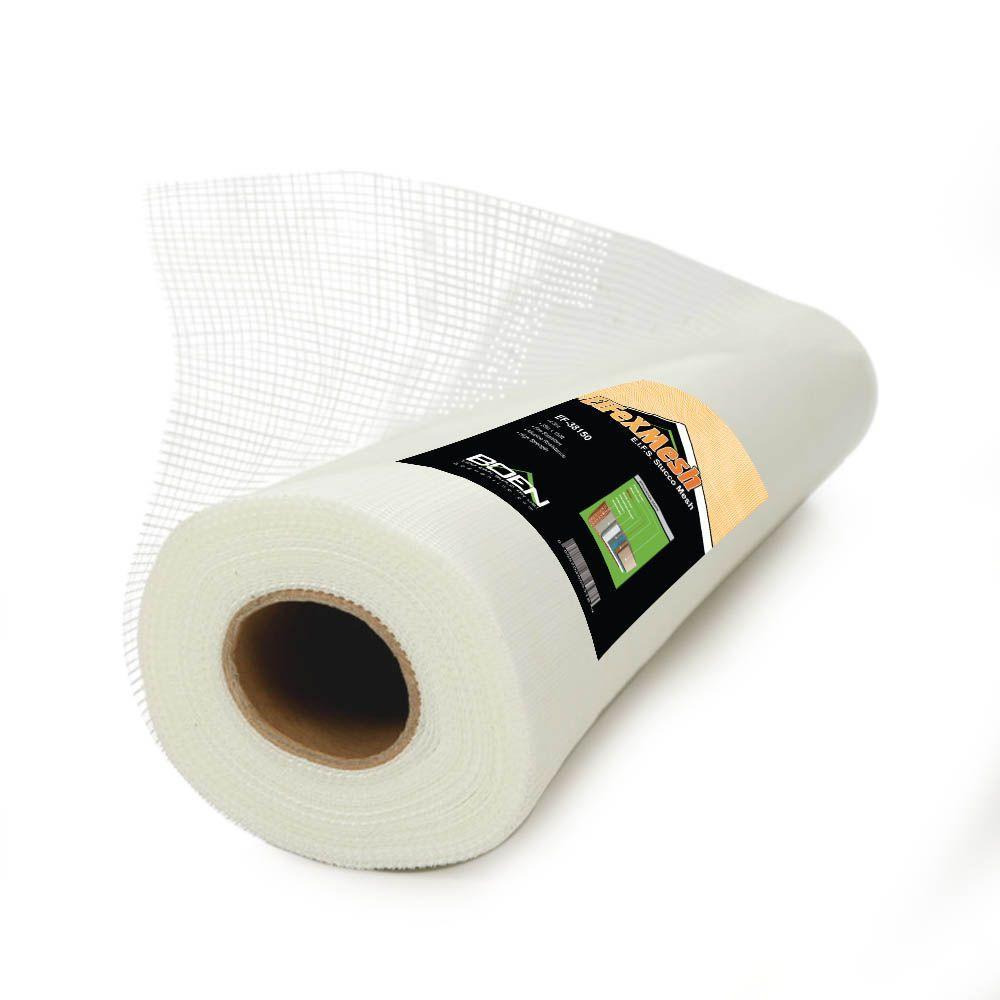 4.5 oz. 19 in. x 150 ft. Fi-Flex Mesh EIFS Stucco Fiberglass Mesh Self-Adhesive