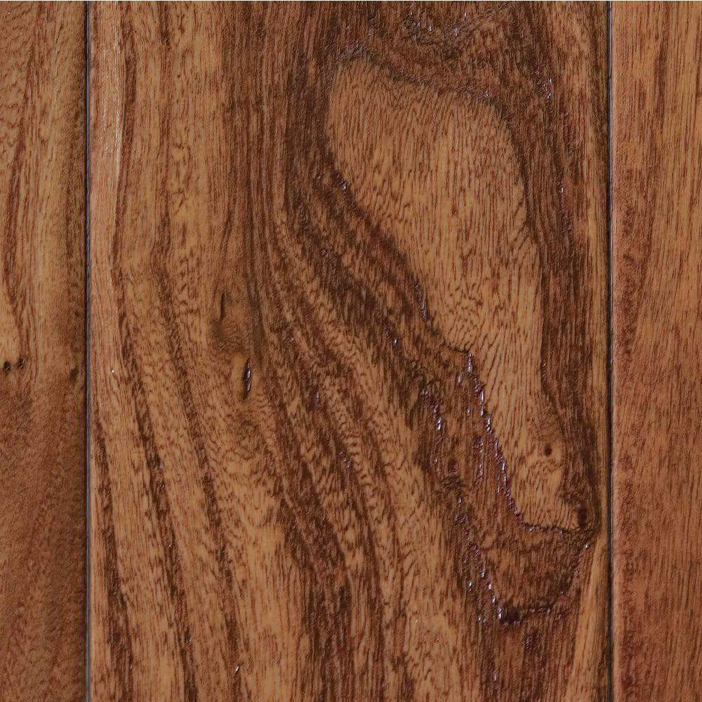 Home Legend Take Home Sample - Hand Scraped Elm Desert Click Lock Hardwood Flooring - 5 in. x 7 in.