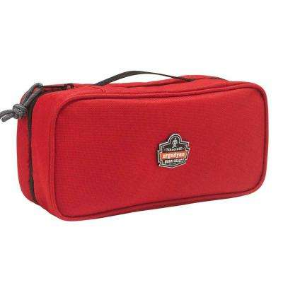 Arsenal 2-Compartment Midsize Small Parts Organizer, Red