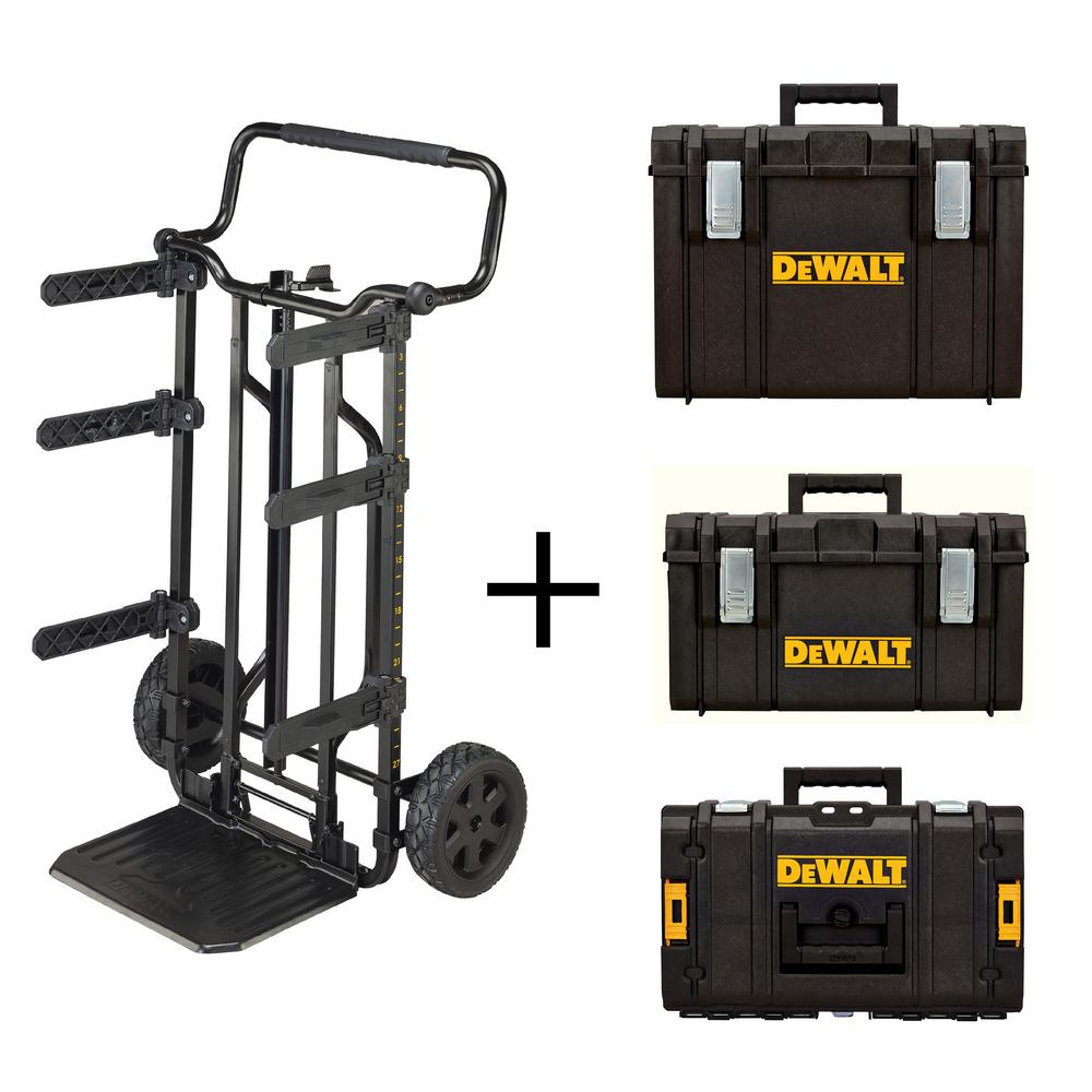 DEWALT ToughSystem 27 In. DS Tool Box Carrier, DS400 XL Tool Box, DS300