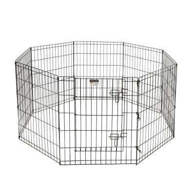 High 8-Panel Heavy Gauge Wire Convertible Indoor/Outdoor Pet Playpen