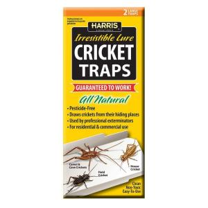 Harris Cricket Traps with 25 Irresistible Lures (2-Pack) by Harris