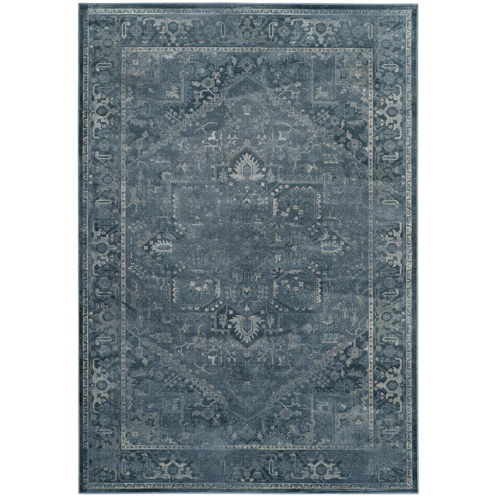 Safavieh Vintage Blue 8 Ft X 11 Area Rug