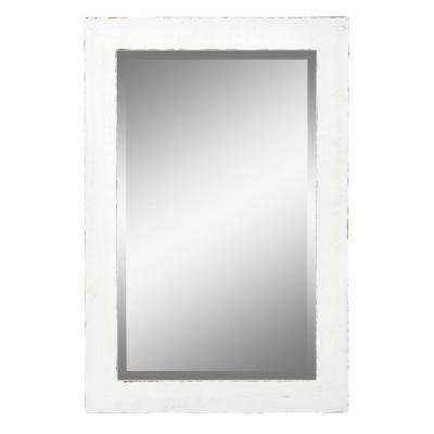 Morris White Wall Mirror