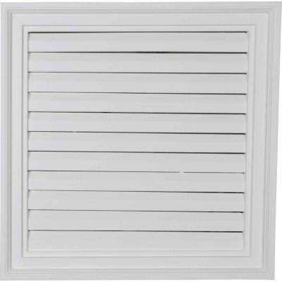 2-1/4 in. x 24 in. x 24 in. Functional Vertical Gable Louver Vent