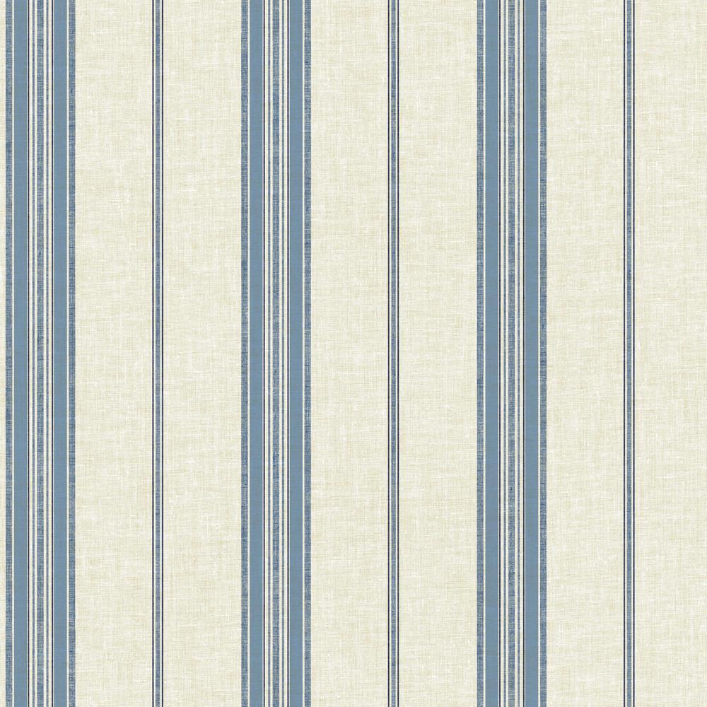 York Wallcoverings Nautical Stripe Wallpaper