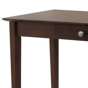 Internet #301088543. Winsome Wood Rochester Walnut Console Table
