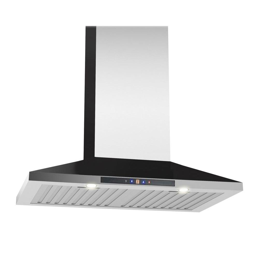 Ancona WPC430 30 in. Wall-Mounted Convertible Range Hood ...