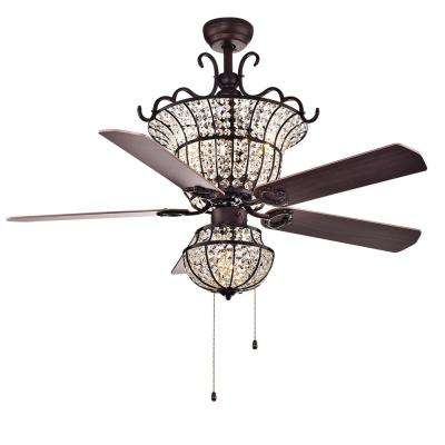Charla 52 in. Indoor Bronze Ceiling Fan