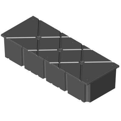 36 in. x 96 in. x 16 in. Dock System Float Drum