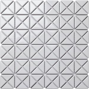 Ivy Hill Tile Calacatta 11 89 In X 11 81 In X 10mm Matte Marble Stone Mosaic Wall Tile 0 98 Sq Ft Ext3rd104679 The Home Depot