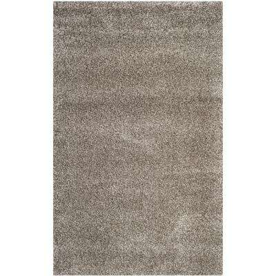 Milan Shag Gray 9 ft. x 12 ft. Area Rug