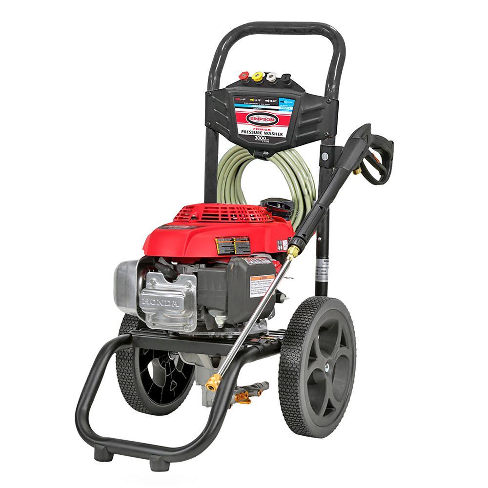 Briggs Stratton Powerflow 3000 Psi 2 3 Gpm Gas Pressure Washer 020569 The Home Depot