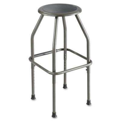 Diesel Pewter Polyurethane Adjustable Office Stool