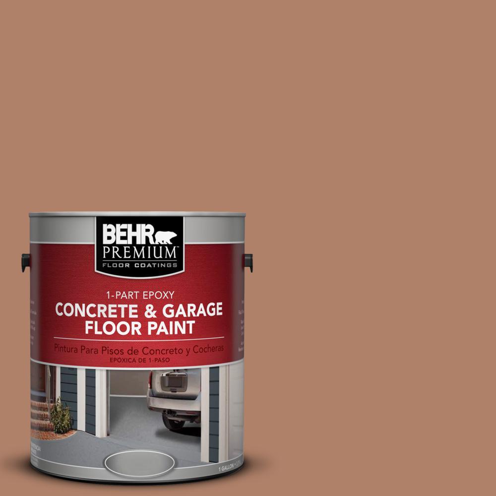 1 gal. #S210-5 Cider Spice 1-Part Epoxy Concrete and Garage Floor Paint