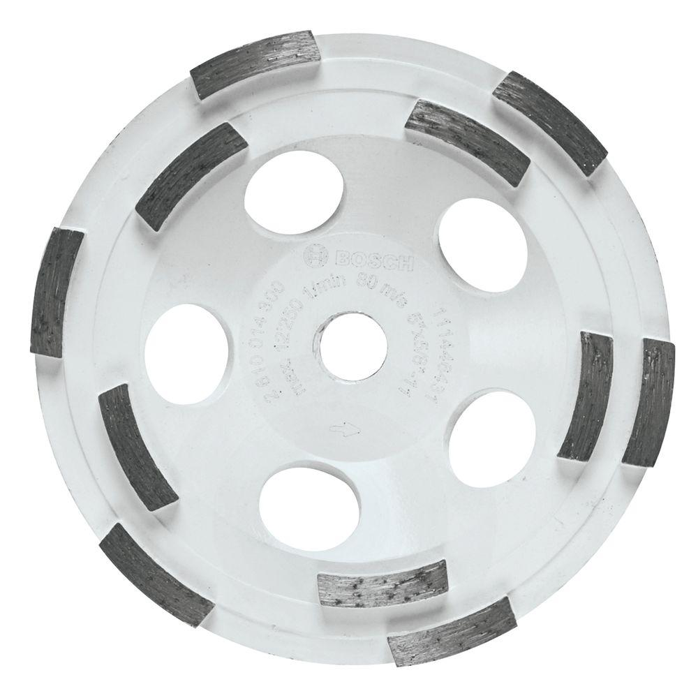 Bosch 5 in. Double Row Diamond Cup Wheel for General Purpose