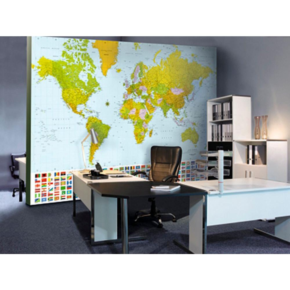 Ideal decor 100 in x 144 in map of the world wall mural dm280 ideal decor 100 in x 144 in map of the world wall mural amipublicfo Image collections
