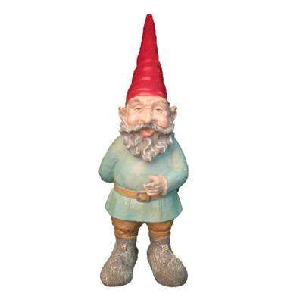 20 in. H Grimmbel the Garden Gnome Figurine Statue