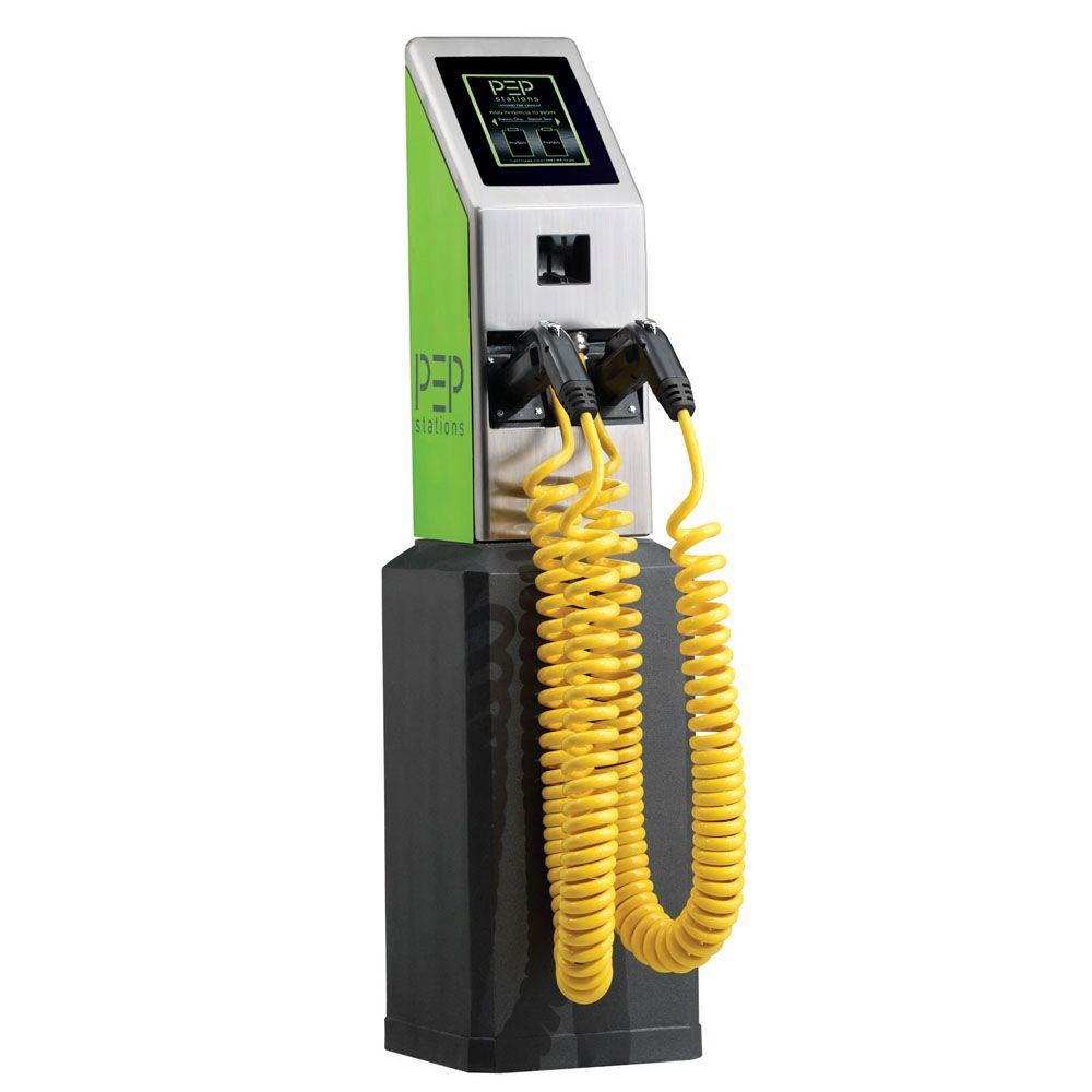 Hubbell Device-Kellems Level-2 Commercial Dual Port Electrical Vehicle Charging Station-DISCONTINUED