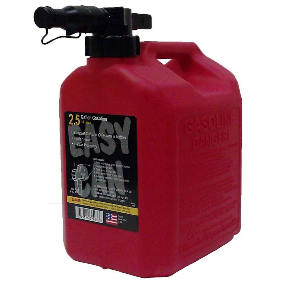 Safety Gas Can >> Easy Can 2 5 Gal Gasoline Can With Fmd