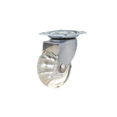 50 mm Clear Plate Caster