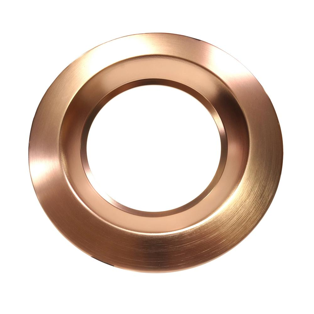 super popular 2e6cd 97eea NICOR 8 in. Copper Recessed Trim