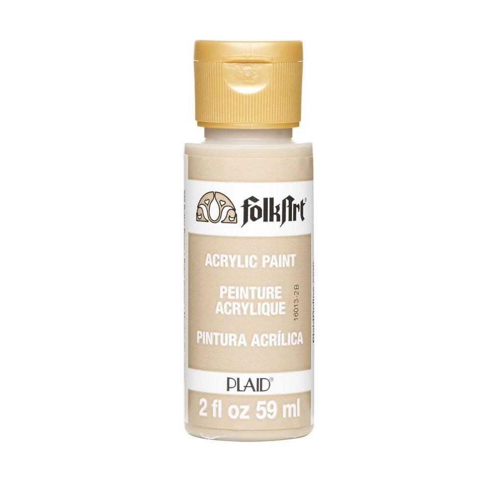FolkArt 2 oz. Butter Pecan Acrylic Craft Paint