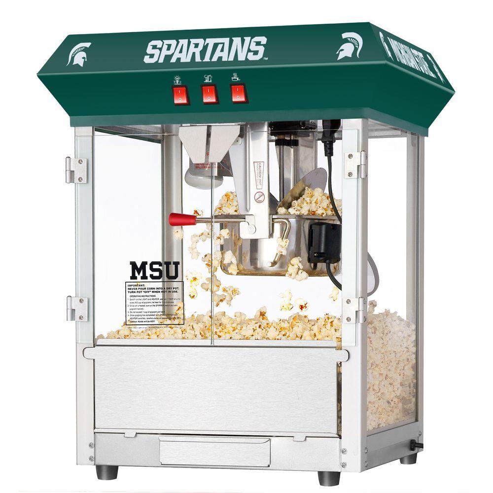 Michigan State University Spartans 8 oz. Popcorn Machine