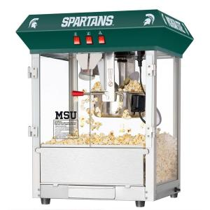 Great Northern Michigan State University Spartans 8 oz. Popcorn Machine by Great Northern